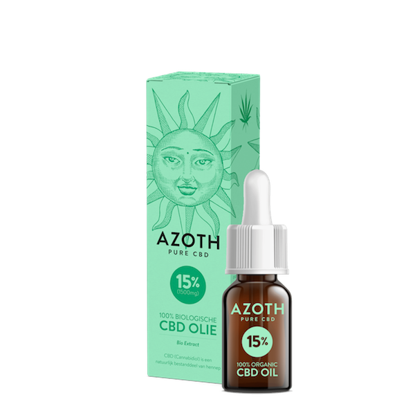 Azoth CBD-olie Puur 15% (10ml)