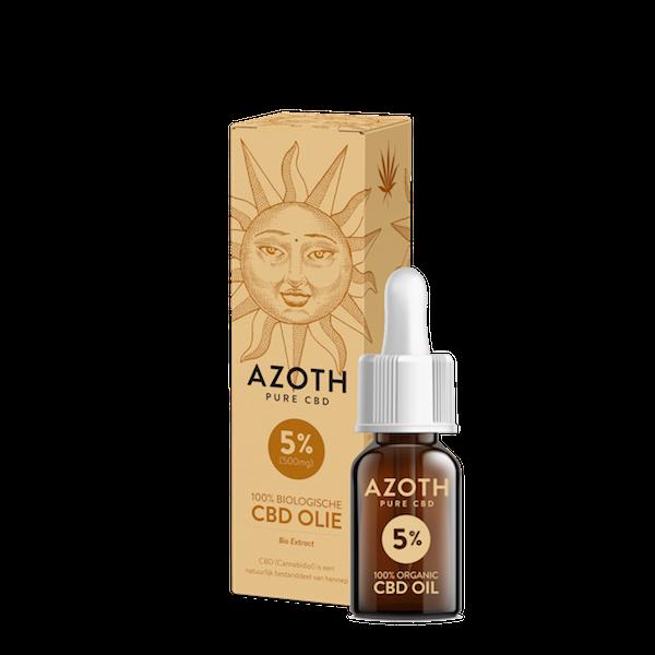 Azoth CBD-olie Puur 5% (10ml)
