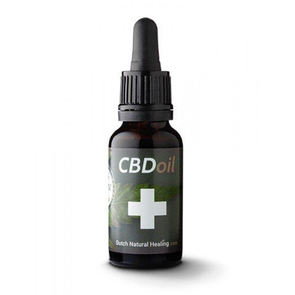 Dutch Natural Healing CBD-olie Citroen 8% (10ml)