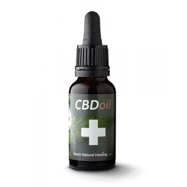 Dutch Natural Healing CBD-olie Naturel 8% (20ml)