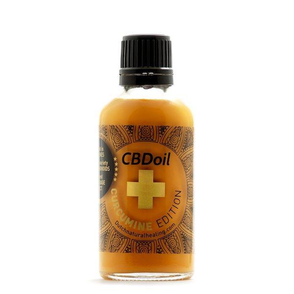DNH CBD-olie Curcumine Edition (50ml)