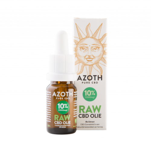 Azoth CBD-olie Raw 10%
