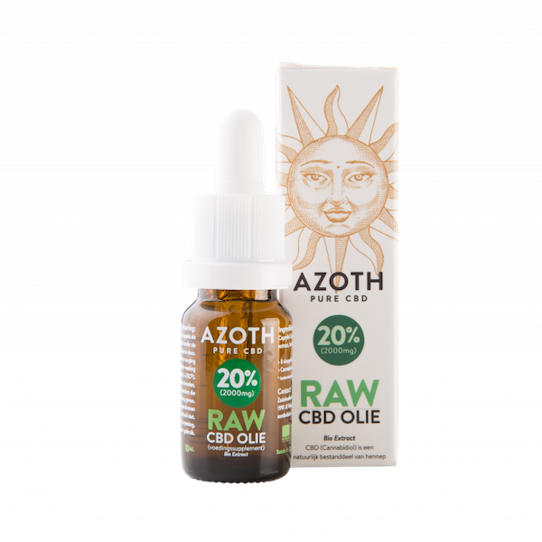 Azoth CBD-olie Raw 20%
