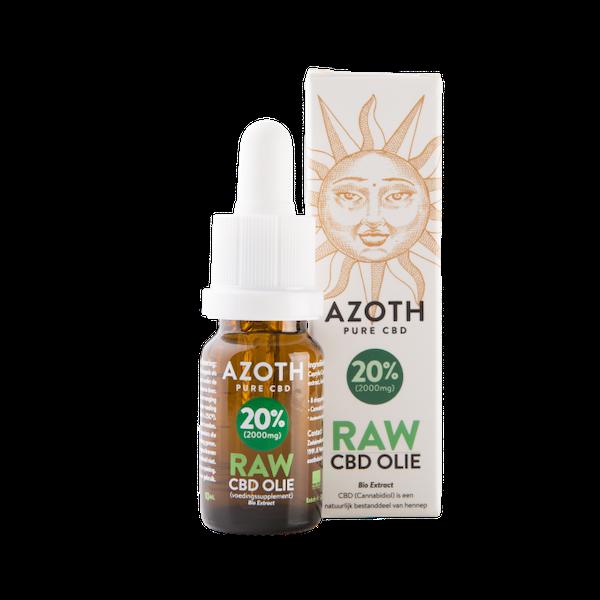 Azoth CBD-olie Raw 20%