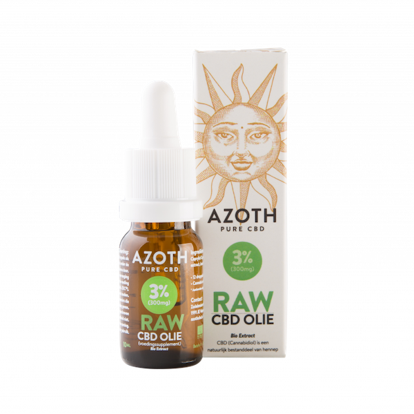 Azoth CBD-olie Raw 3%