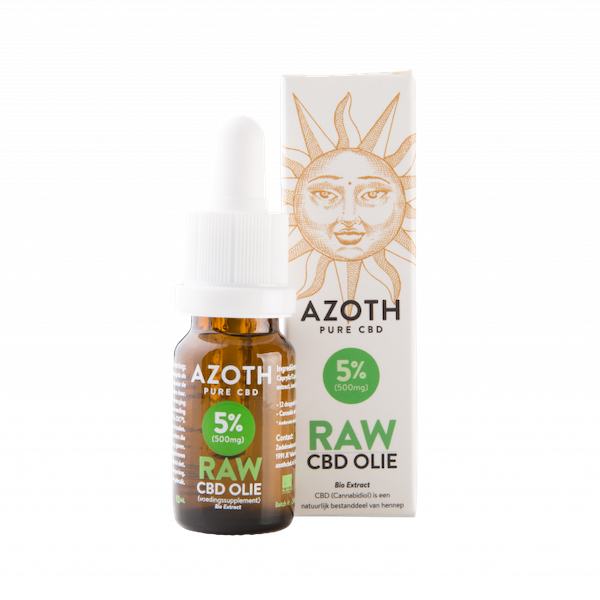 Azoth CBD-olie Raw 5%
