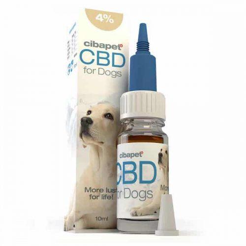 Cibapet CBD-olie Honden 4% (10ml)