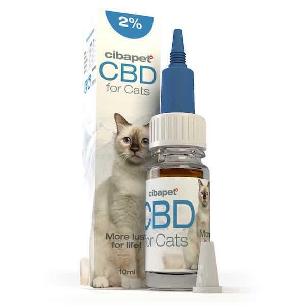 Cibapet CBD-olie Katten 2% (10ml)
