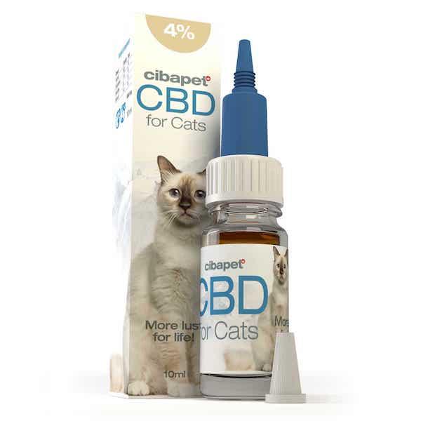Cibapet CBD-olie Katten 4% (10ml)
