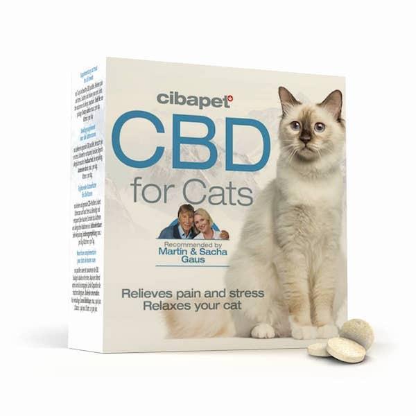 Cibapet CBD-pastilles Katten