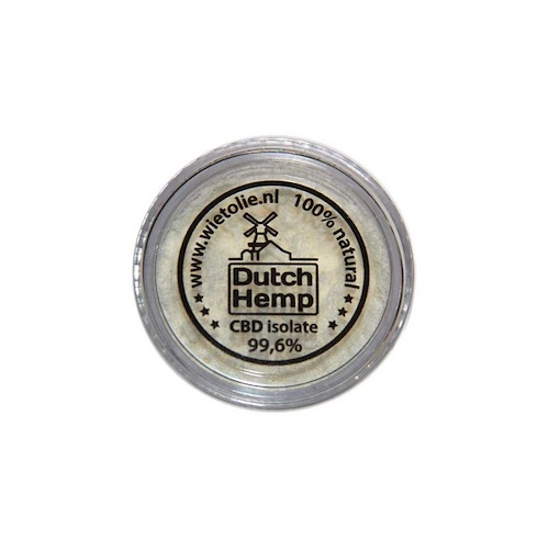 DutchHemp CBD-isolaat 99,6% (1g)