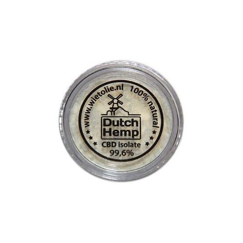 DutchHemp CBD-isolaat 99,6% (3g)