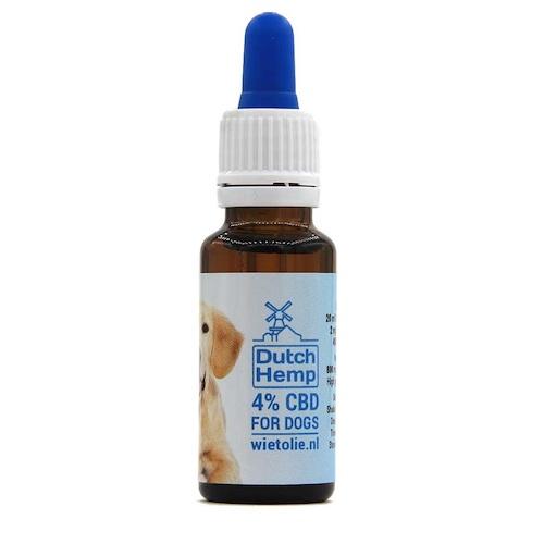 DutchHemp CBD-olie Honden 4% (20ml)