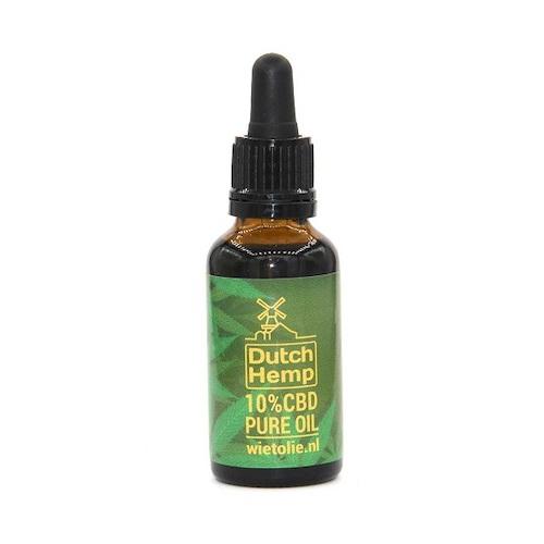 DutchHemp CBD-olie Puur 10% (30ml)