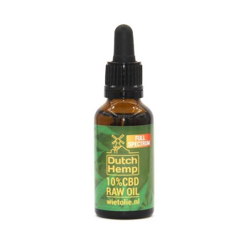 DutchHemp CBD-olie Raw 10% (30ml)