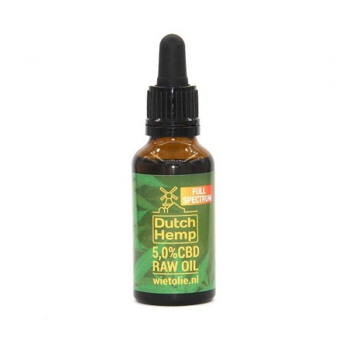DutchHemp CBD-olie Raw 5% (30ml)