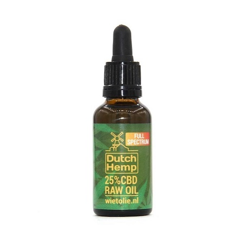 DutchHemp CBD-olie Raw 25% 30ml