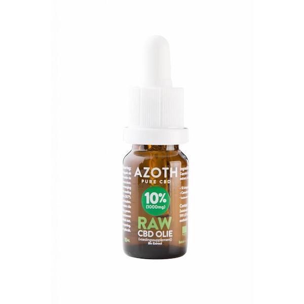 Azoth CBD-olie Raw 10%