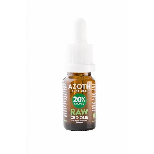 Azoth CBD-olie Raw 20% (10ml)