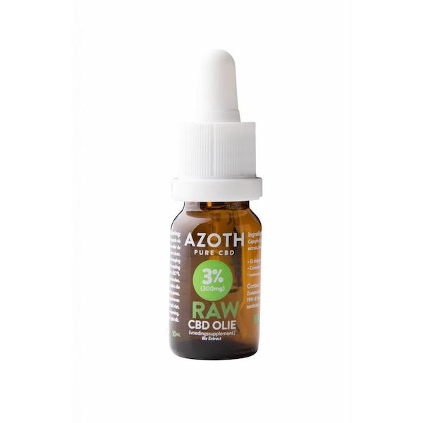 Azoth CBD-olie Raw 3%