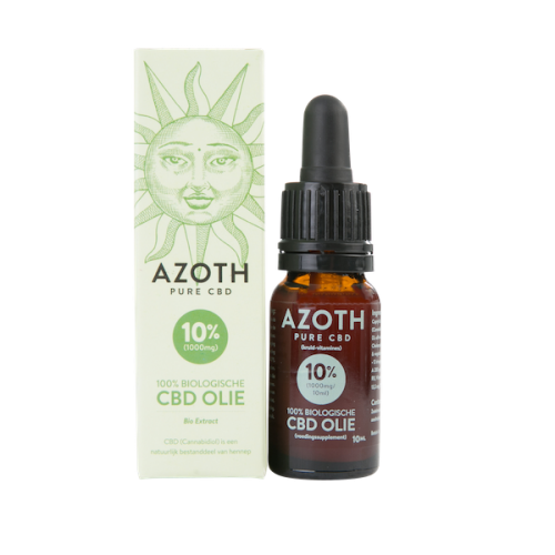 Azoth CBD-olie Puur 10% (10ml)