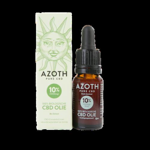 Azoth CBD-olie Puur 10% (10ml)