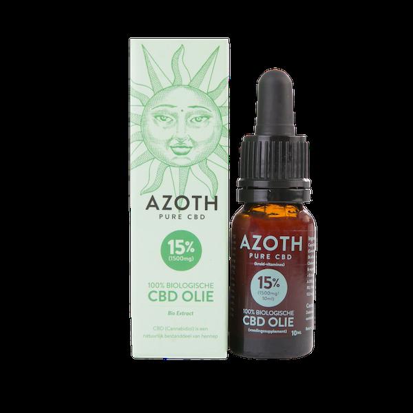 Azoth CBD-olie Puur 15% (10ml)