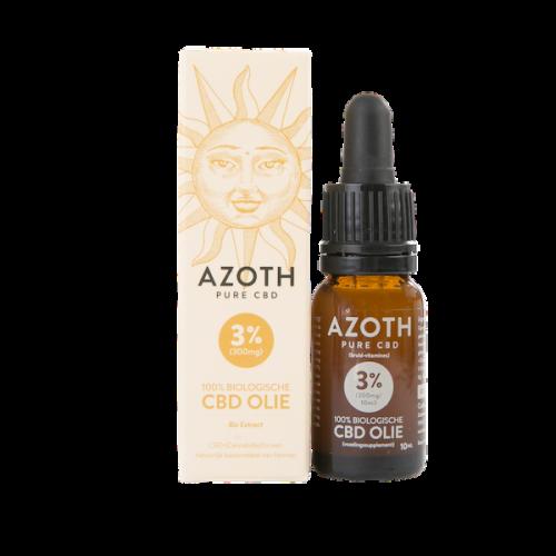 Azoth CBD-olie Puur 3% (10ml)