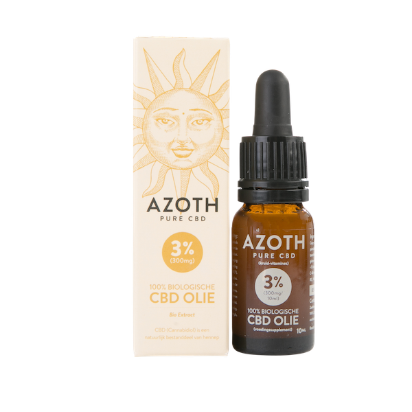 Azoth CBD-olie Puur 3% (10ml)
