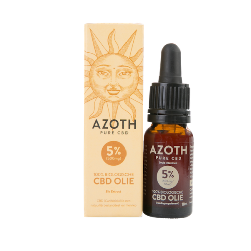 Azoth CBD-olie Puur 5% (10ml)